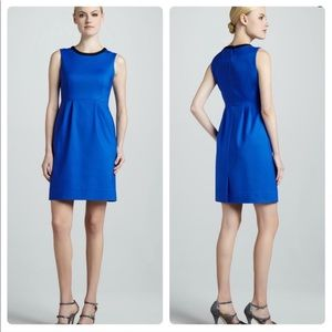 Kate Spade Arie Sleeveless Dress Blue Black 8 Mini